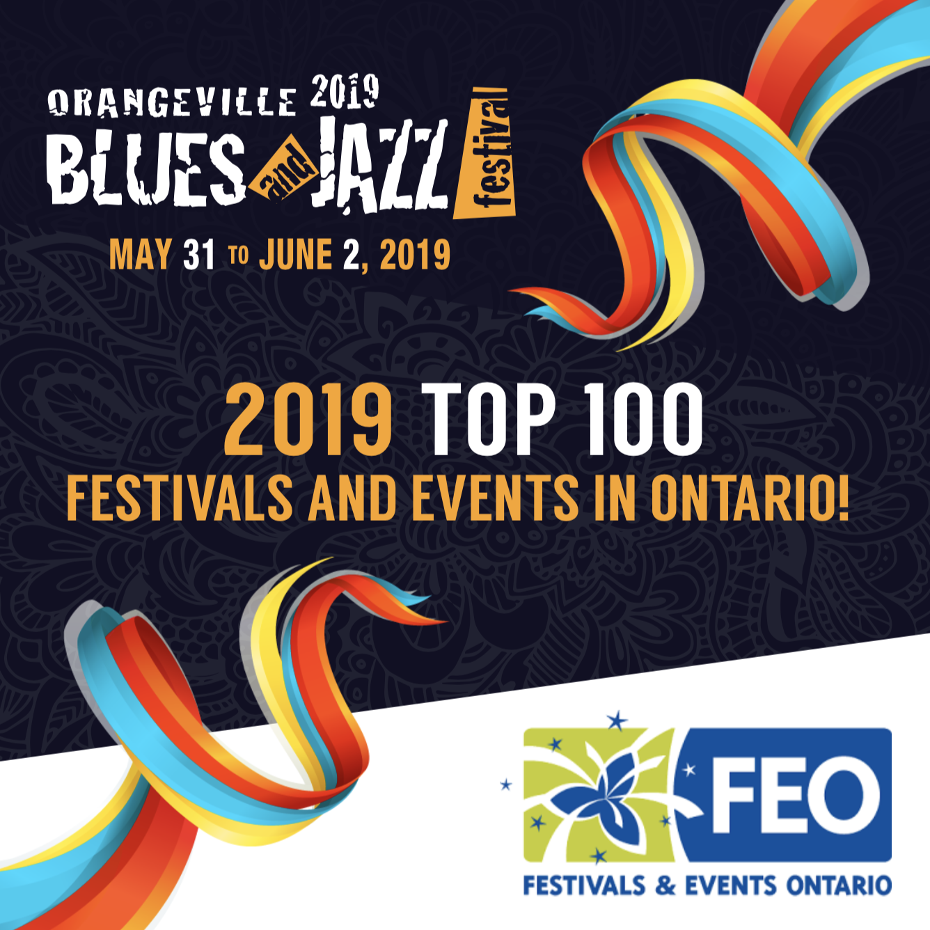 Orangeville Blues and Jazz Festival named one of Ontario's top 100 festivals and events for 2019