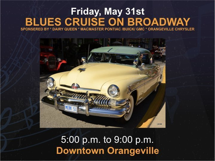 Macmaster Buick GMC ~ Orangeville Chrysler Blues Cruise - Friday @ Broadway