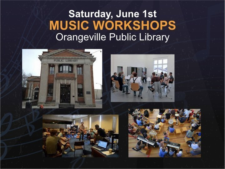 Workshops @ Orangeville Public Library