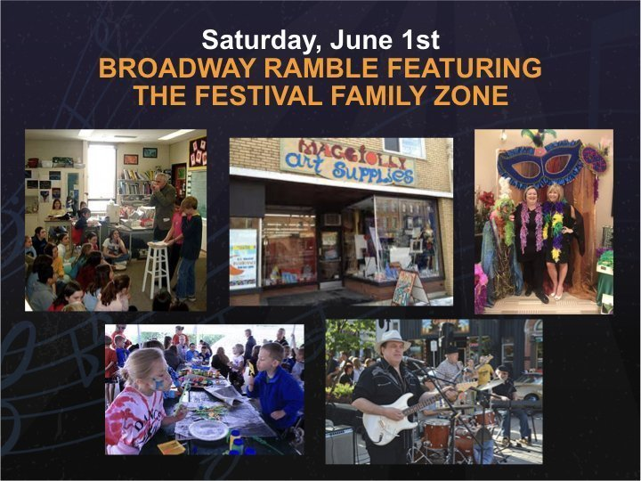 Broadway Ramble – Saturday