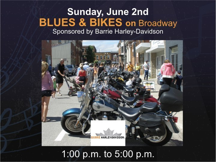 Blues & Bikes - Sunday @ Broadway