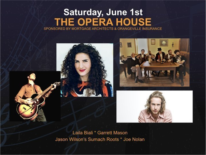 Opera House - Saturday @ Orangeville Opera House