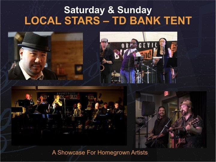 Local Stars Stage - Saturday @ TD Local Stars Tent