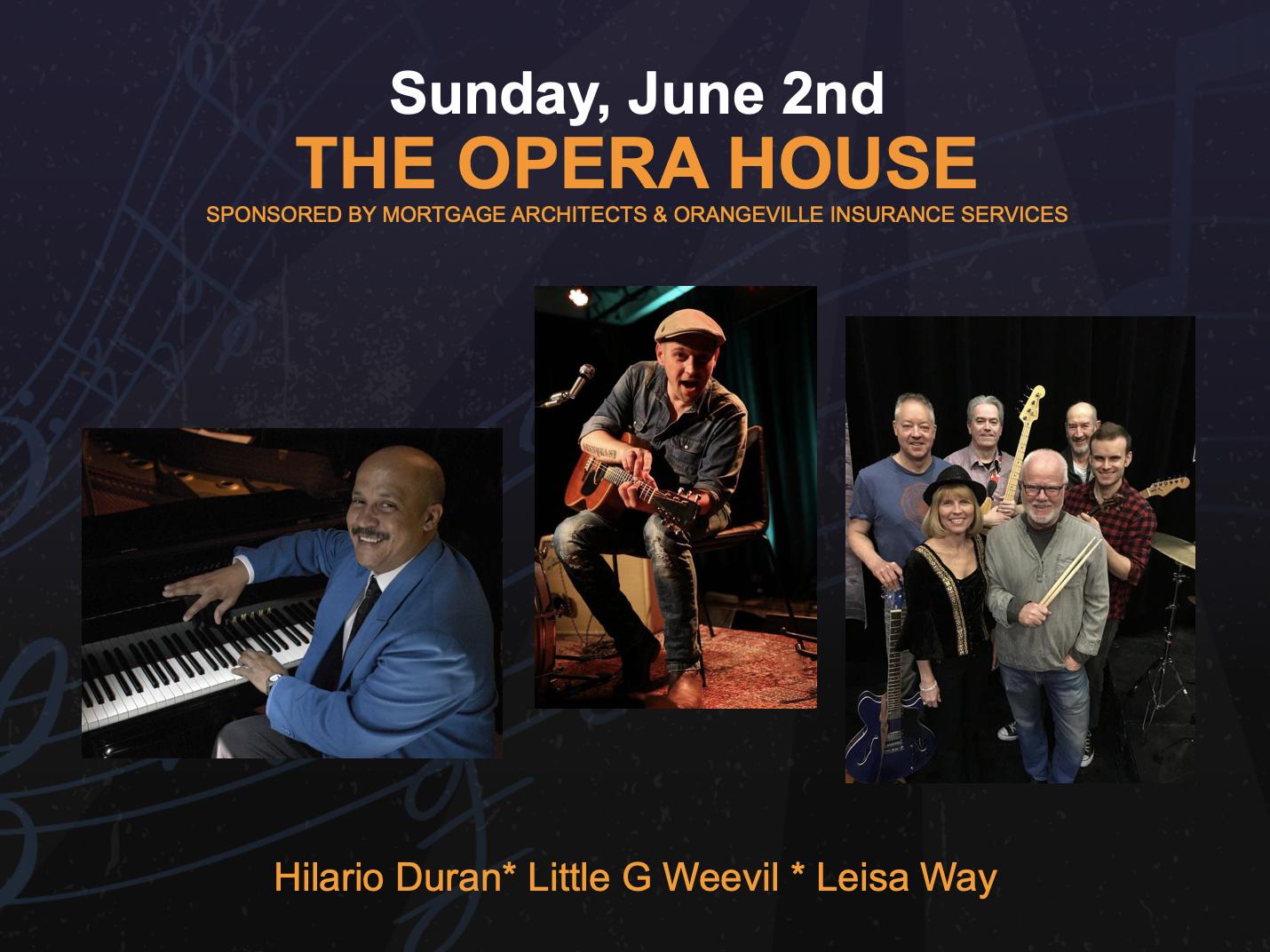 Opera House – Sunday