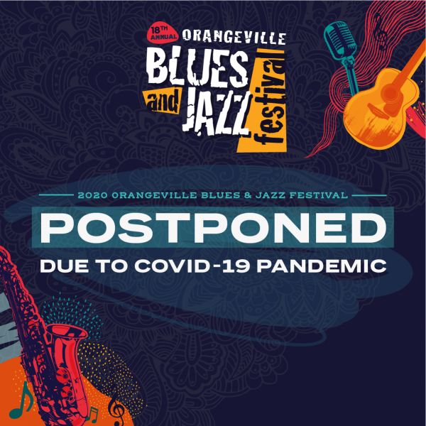 2020 Orangeville Blues & Jazz Festival Postponed Due to COVID-19 Pandemic